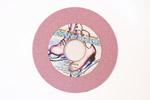 круг для заточки коньков Encore, 150х6х38, Розовый